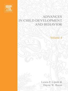 Ebook in inglese ADV IN CHILD DEVELOPMENT &BEHAVIOR V 4 -, -