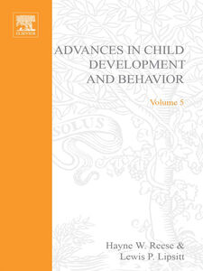 Foto Cover di ADV IN CHILD DEVELOPMENT &BEHAVIOR V 5, Ebook inglese di  edito da Elsevier Science