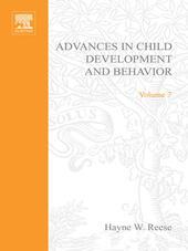 ADV IN CHILD DEVELOPMENT &BEHAVIOR V 7