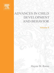 Ebook in inglese ADV IN CHILD DEVELOPMENT &BEHAVIOR V 8 -, -