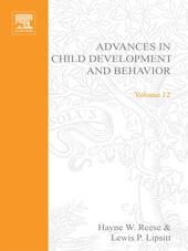 ADV IN CHILD DEVELOPMENT &BEHAVIOR V12