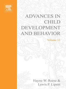 Foto Cover di ADV IN CHILD DEVELOPMENT &BEHAVIOR V13, Ebook inglese di  edito da Elsevier Science