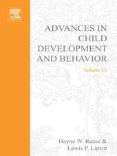 ADV IN CHILD DEVELOPMENT &BEHAVIOR V13