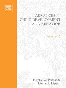 Foto Cover di ADV IN CHILD DEVELOPMENT &BEHAVIOR V15, Ebook inglese di  edito da Elsevier Science