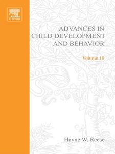 Ebook in inglese ADV IN CHILD DEVELOPMENT &BEHAVIOR V18 -, -
