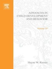 ADV IN CHILD DEVELOPMENT &BEHAVIOR V19