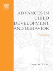ADV IN CHILD DEVELOPMENT &BEHAVIOR V22