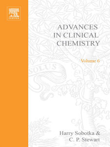Ebook in inglese ADVANCES IN CLINICAL CHEMISTRY VOL 6