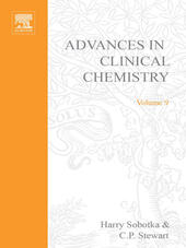 ADVANCES IN CLINICAL CHEMISTRY VOL 9