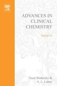 Foto Cover di ADVANCES IN CLINICAL CHEMISTRY VOL 14, Ebook inglese di  edito da Elsevier Science