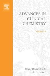 ADVANCES IN CLINICAL CHEMISTRY VOL 14