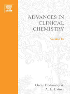 Ebook in inglese ADVANCES IN CLINICAL CHEMISTRY VOL 16