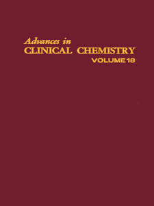 Ebook in inglese ADVANCES IN CLINICAL CHEMISTRY VOL 18 -, -
