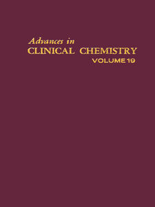 Ebook in inglese ADVANCES IN CLINICAL CHEMISTRY VOL 19 -, -