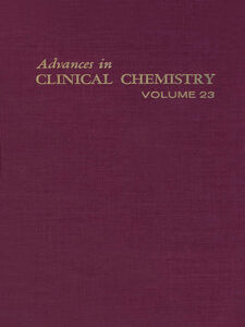 Ebook in inglese ADVANCES IN CLINICAL CHEMISTRY VOL 23