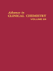 Ebook in inglese ADVANCES IN CLINICAL CHEMISTRY VOL 24