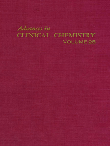 Ebook in inglese ADVANCES IN CLINICAL CHEMISTRY VOL 25 -, -