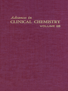 Ebook in inglese ADVANCES IN CLINICAL CHEMISTRY VOL 26 -, -
