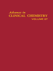 Ebook in inglese ADVANCES IN CLINICAL CHEMISTRY VOL 27 -, -