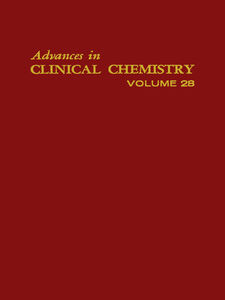 Ebook in inglese ADVANCES IN CLINICAL CHEMISTRY VOL 28