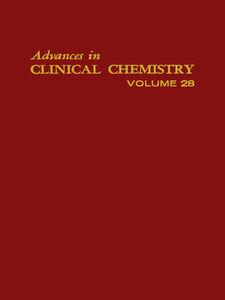 Foto Cover di ADVANCES IN CLINICAL CHEMISTRY VOL 28, Ebook inglese di  edito da Elsevier Science
