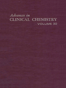 Ebook in inglese ADVANCES IN CLINICAL CHEMISTRY VOL 30 -, -
