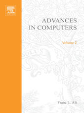 ADVANCES IN COMPUTERS VOL 2