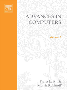 Ebook in inglese ADVANCES IN COMPUTERS VOL 5 -, -