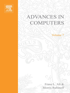 Ebook in inglese ADVANCES IN COMPUTERS VOL 7 -, -