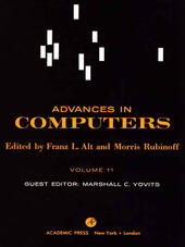 ADVANCES IN COMPUTERS VOL 11
