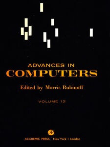 Ebook in inglese ADVANCES IN COMPUTERS VOL 12
