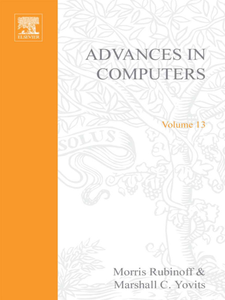 Ebook in inglese ADVANCES IN COMPUTERS VOL 13 -, -