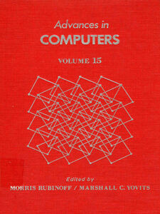 Ebook in inglese ADVANCES IN COMPUTERS VOL 15