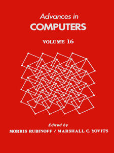 Ebook in inglese ADVANCES IN COMPUTERS VOL 16