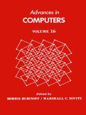 ADVANCES IN COMPUTERS VOL 16