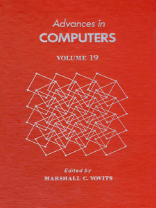 Ebook in inglese ADVANCES IN COMPUTERS VOL 19 -, -