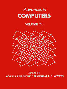 Ebook in inglese ADVANCES IN COMPUTERS VOL 20 -, -