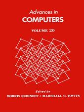 ADVANCES IN COMPUTERS VOL 20
