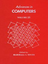 ADVANCES IN COMPUTERS VOL 23