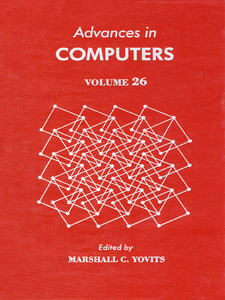 Ebook in inglese ADVANCES IN COMPUTERS VOL 26 -, -