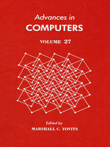 Ebook in inglese ADVANCES IN COMPUTERS VOL 27 -, -