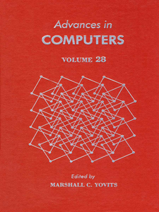 Ebook in inglese ADVANCES IN COMPUTERS VOL 28 -, -