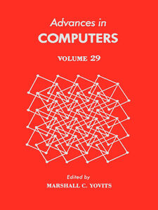 Ebook in inglese ADVANCES IN COMPUTERS VOL 29