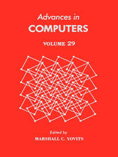 ADVANCES IN COMPUTERS VOL 29