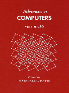 Ebook in inglese ADVANCES IN COMPUTERS VOL 30 -, -