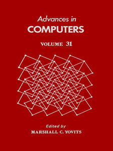 Ebook in inglese ADVANCES IN COMPUTERS VOL 31 -, -