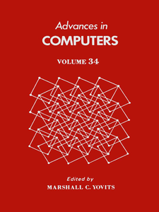 Ebook in inglese ADVANCES IN COMPUTERS VOL 34 -, -