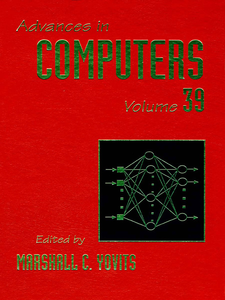 Ebook in inglese ADVANCES IN COMPUTERS VOL 39 -, -