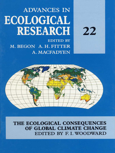 Ebook in inglese The ecological consequences of global climate change -, -