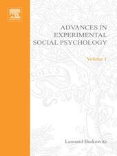 ADV EXPERIMENTAL SOCIAL PSYCHOLOGY,VOL 1
